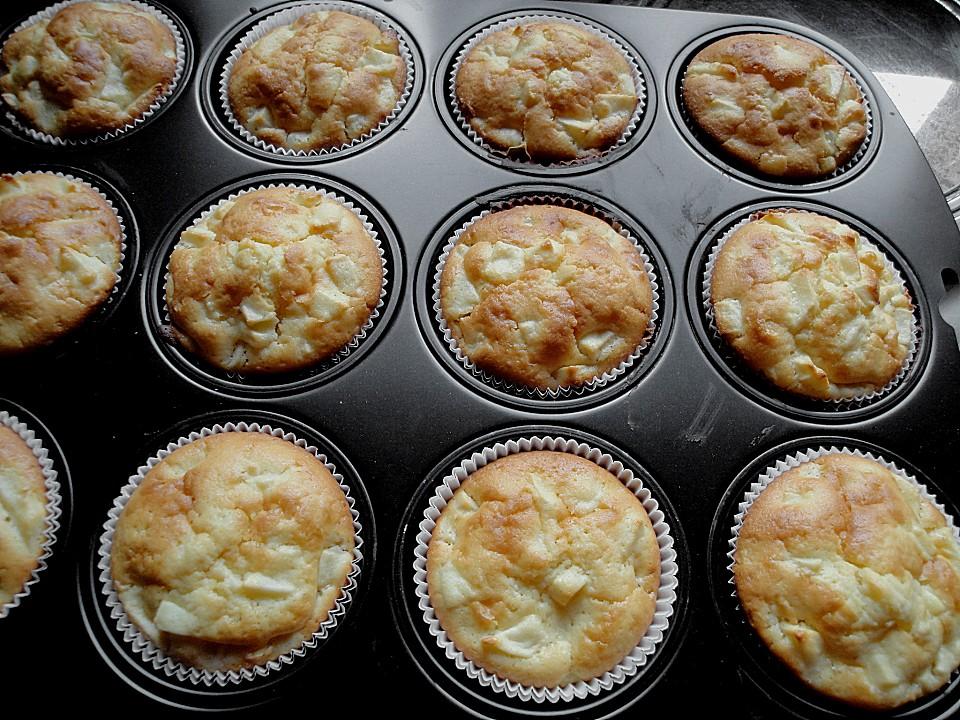 Apfel Muffins Von Birgit1980 Chefkoch De