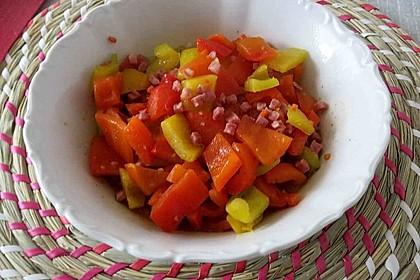 Tomaten - Paprika - Sauce