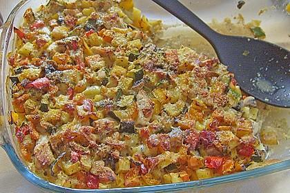 Annikas Gemüse - Hähnchen - Tortilla