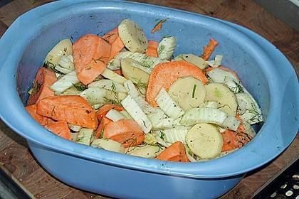 Süßkartoffel - Kartoffel - Fenchel - Auflauf 18