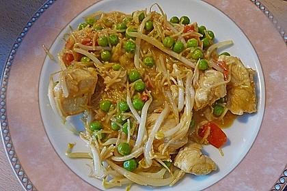 Schweinefilet chinesisch mit Gemüse und Eiernudeln 5