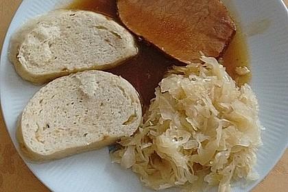 Kasseler mit Sauerkraut 8
