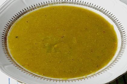 Bananen - Curry - Lauchsuppe