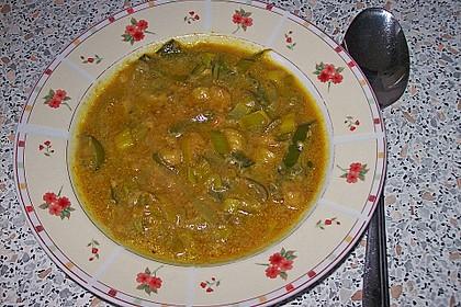 Bananen - Curry - Lauchsuppe 1