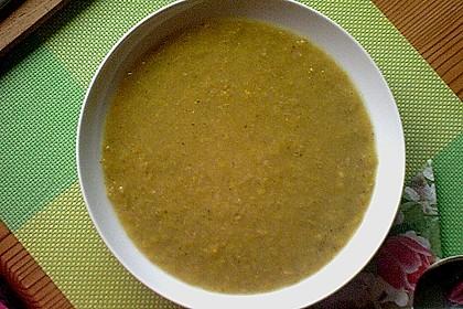 Bananen - Curry - Lauchsuppe 3