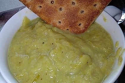 Bananen - Curry - Lauchsuppe 2