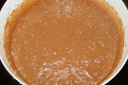 Schokokuchen mit Pudding und Kokosraspel (Bild)