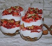 Erdbeer - Tiramisu - Dessert (Bild)