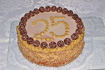 Kaffeecreme – Torte (Bild)