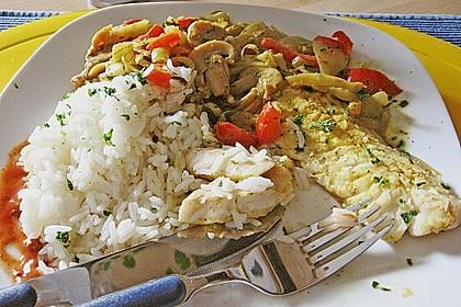 Rotbarsch mit Currygemüse 7