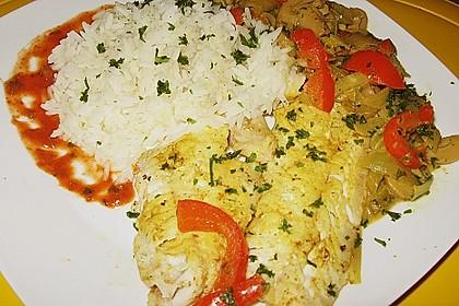 Rotbarsch mit Currygemüse 3