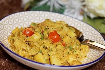 Kartoffel-Wirsing-Curry 2