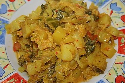 Kartoffel-Wirsing-Curry 8