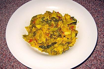 Kartoffel-Wirsing-Curry 13