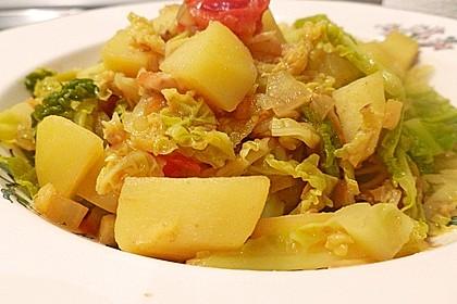 Kartoffel-Wirsing-Curry 1