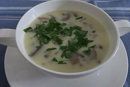 Champignon-Creme-Suppe 20