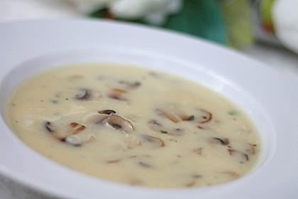 Champignon-Creme-Suppe 2