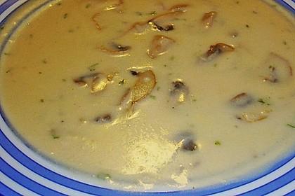 Champignon-Creme-Suppe 14