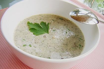 Champignon-Creme-Suppe 15
