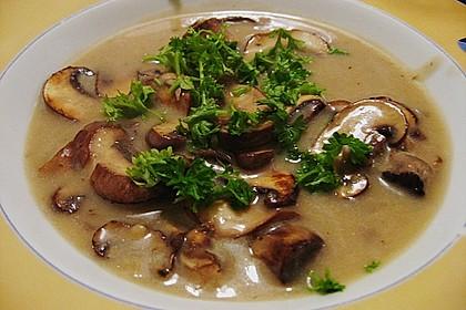 Champignon-Creme-Suppe 3