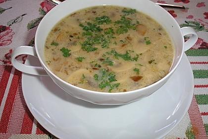 Champignon-Creme-Suppe 5
