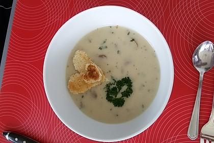 Champignon-Creme-Suppe 31