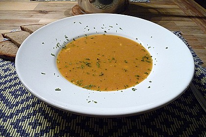 Rote Linsensuppe 7