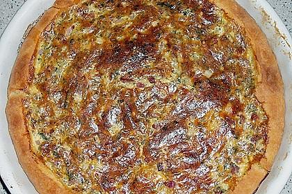 Zucchini - Quiche mit Räucherlachs 10