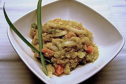 Quinoa mit asiatischem Hauch 1