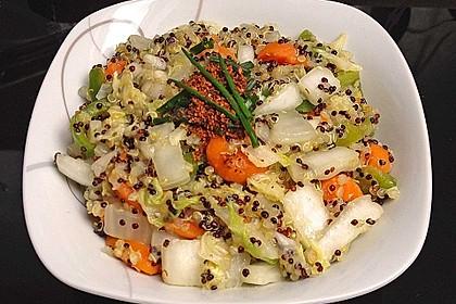 Quinoa mit asiatischem Hauch