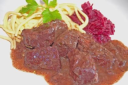 Rindfleisch auf Burgunder Art 2