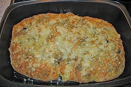 Kartoffelbrot vom Blech 25