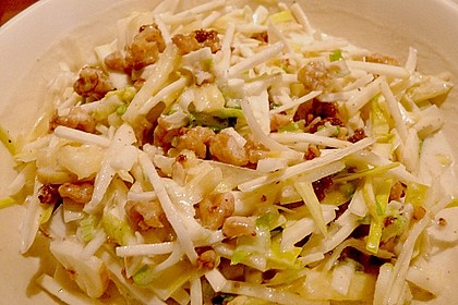 Ananas - Porree - Sellerie - Salat