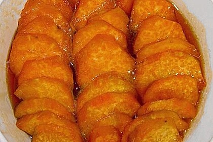Glazed Sweet Potatoes 1