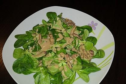 Feldsalat mit Sahne-Speck-Sauce 29