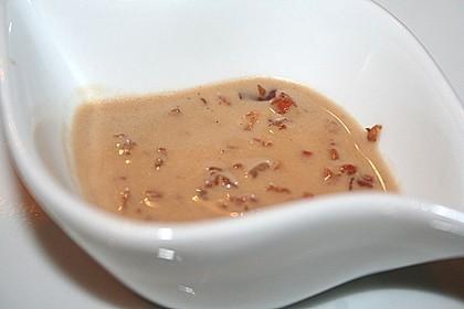 Feldsalat mit Sahne-Speck-Sauce 53