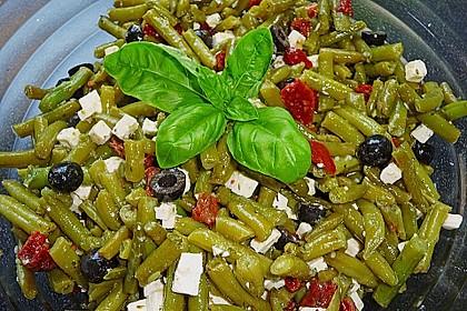 Bohnensalat griechisch 2