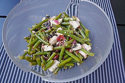 Bohnensalat griechisch 7