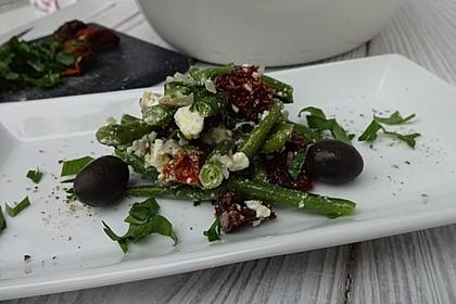 Bohnensalat griechisch 4