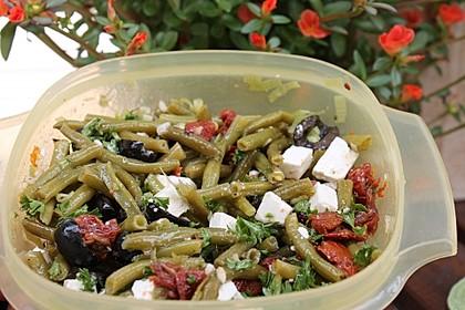 Bohnensalat griechisch 8