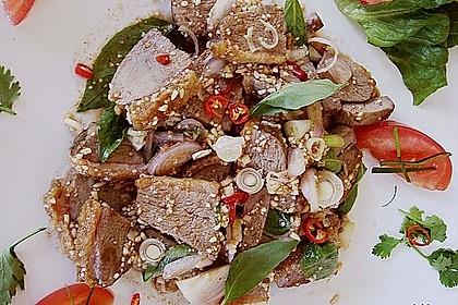 Entenbrust - Salat mit Horopha