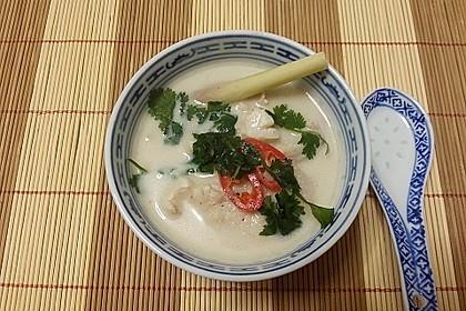 Fischsuppe mit Kokosmilch (Bild)
