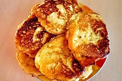Süße dicke Eierpfannkuchen 7