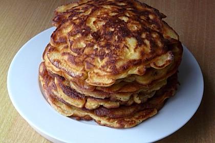 Süße dicke Eierpfannkuchen 2