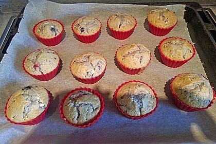 Erdbeer - Jogurt Muffins 2 (Bild)