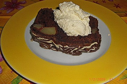 Birnen - Kakao - Kastenkuchen 15