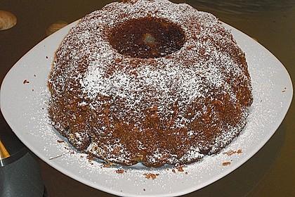 Birnen - Kakao - Kastenkuchen 14