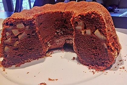 Birnen - Kakao - Kastenkuchen 11