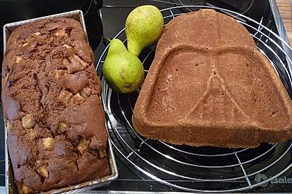 Birnen - Kakao - Kastenkuchen 9