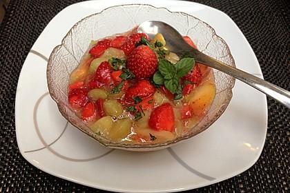 Rhabarber - Erdbeer - Kompott